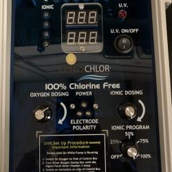 ZeroChlor 150 Chlorine Free Swimming Pool System (90mm 240V)